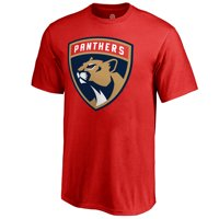Florida Panthers Fanatics Branded Youth Primary Logo T-Shirt - Red