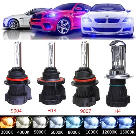 12PCS 9007 55W HID Bi-Xenon Hi/Lo Dual Beam Replacement Conversion Kit Light