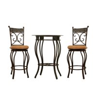 Boraam Beau 3 Piece Pub Table Set