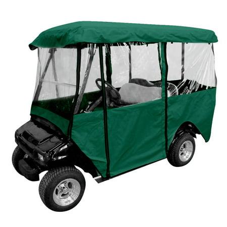 Club Car Accessories >> Leader Accessories Deluxe 4 Person Golf Cart Cover Storage Driving Enclosure Fit Ez Go Club Car Yamaha Cart