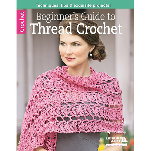 Leisure Arts Beginner's Guide to Thread Crochet