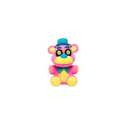 Funko Plush: Five Nights at Freddy's - Freddy Pink Blacklight (Halloween At Freddy's Tryhardninja)
