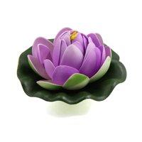Light Purple Foam Flower Bud  Aquarium Pond Decor Floating Plant Ornament