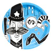Cops and Robbers Party Dinner Plates (8)