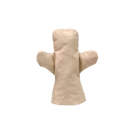 CANVAS BODY HAND PUPPETS 6 PK