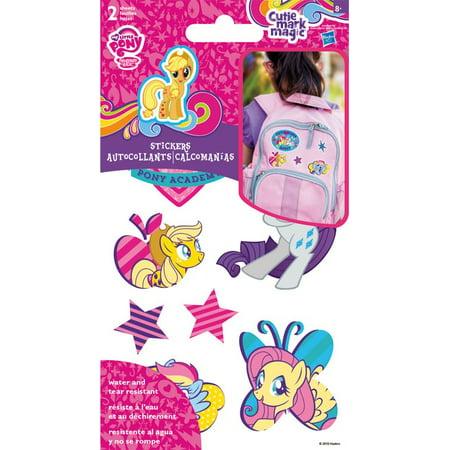 Sticker Stickables Tyvek - My Little Pony - 2 Sheet New Licensed st1412