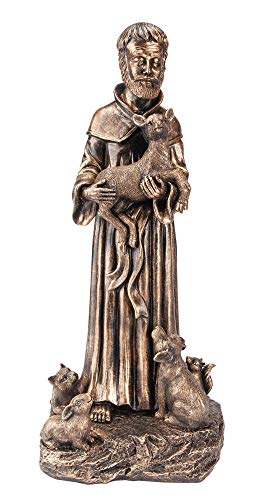 The Paragon St Francis With Animals Statue Saint Francis Of Assisi Indoor Or Outdoor Home Yard And Garden Decor Walmart Canada