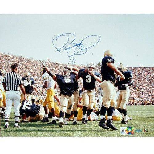 "Jerome Bettis Being Tackled In Snow vs. Penn State 8"" x 10"" Photo"