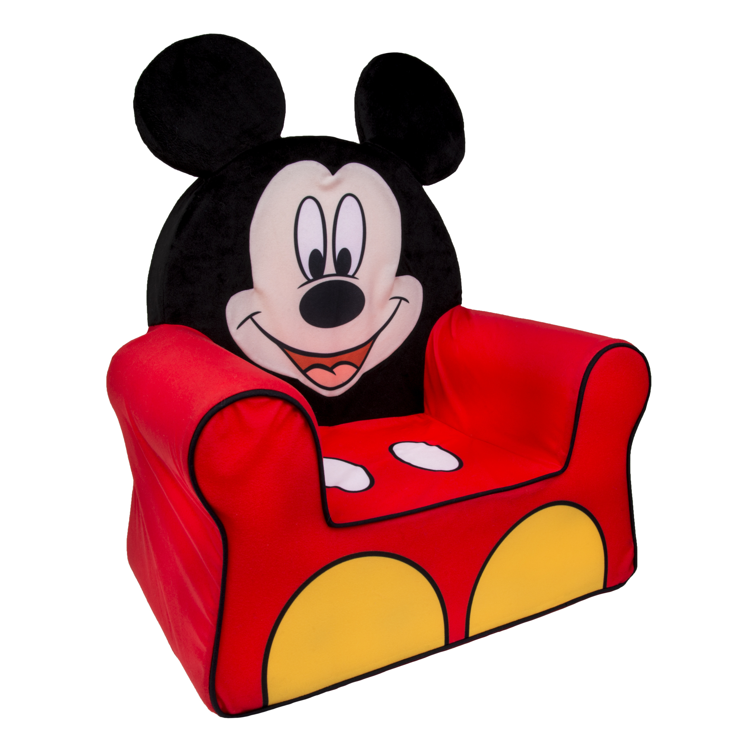 Marshmallow Furniture - Childrenu0027s Foam Mickey Mouse Comfy Chair by Spin Master - Walmart.com  sc 1 st  Walmart & Marshmallow Furniture - Childrenu0027s Foam Mickey Mouse Comfy Chair by ...