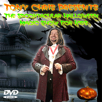 Halloween Show by Tony Chris - DVD - Chris Russell Halloween