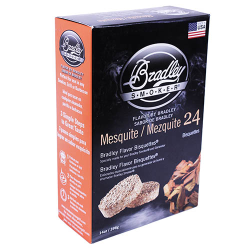 Bradley Technologies Mesquite Bisquettes 24 Pack SKU: BTMQ24 with Elite Tactical Cloth
