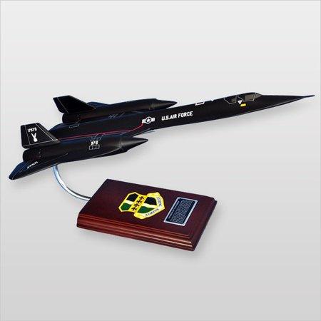 SR-71A Blackbird Wood Desktop Model - image 1 of 1