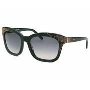 Women's Square Green Sunglasses