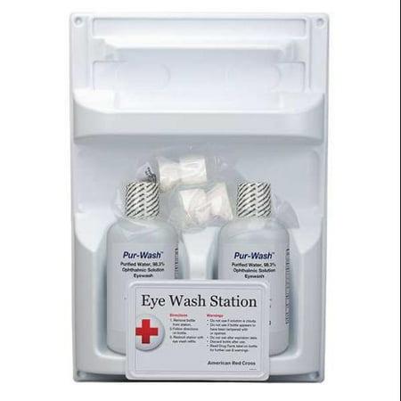 American Red Cross Eye Wash Station, White 711005