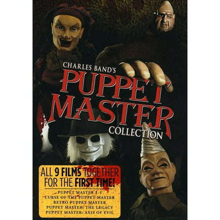 The Complete Puppet Master Collection (DVD)](Halloween Film Complet)