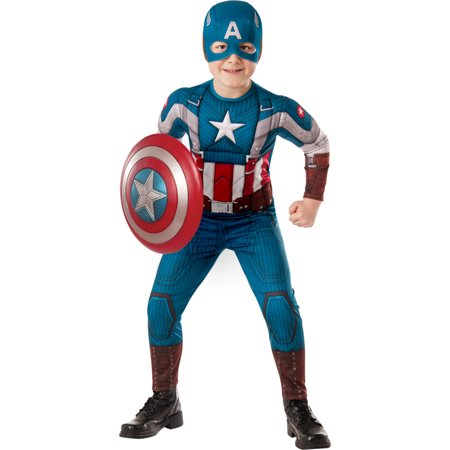 Morris Costumes Boys Captain America Child Large, Style (20's Style Costumes)