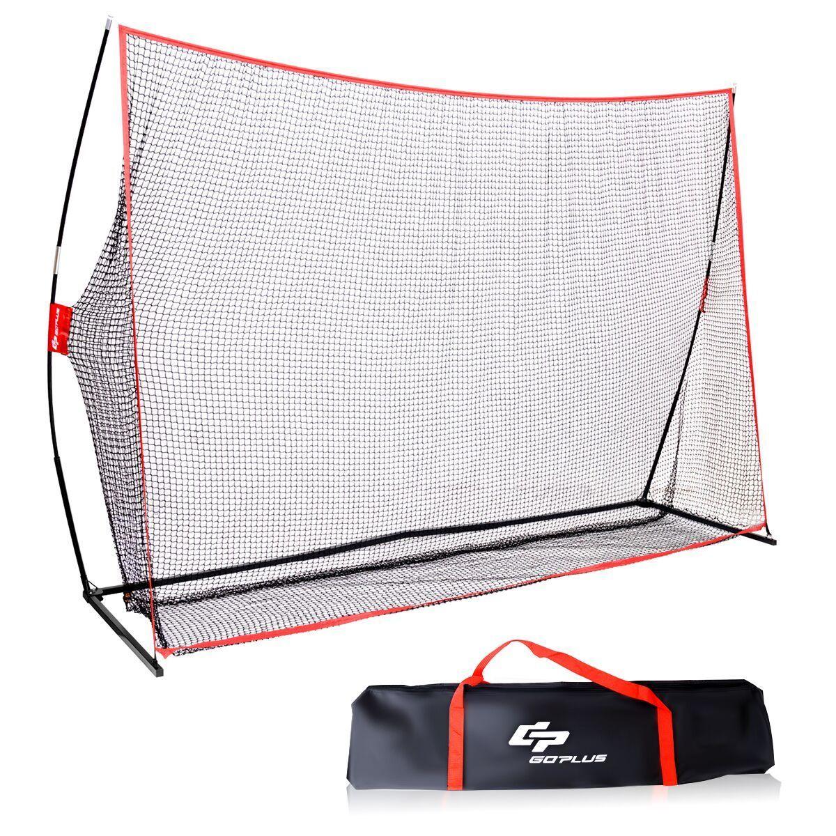 Goplus 10'x7' Golf Practice Net Training Hitting Personal