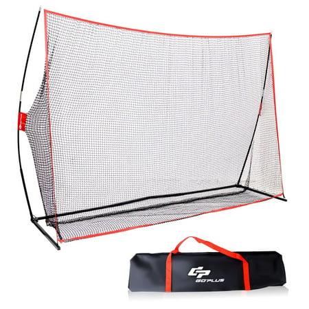 Goplus 10'x7' Golf Practice Net Training Hitting Personal Driving Range Indoor - Driving Net