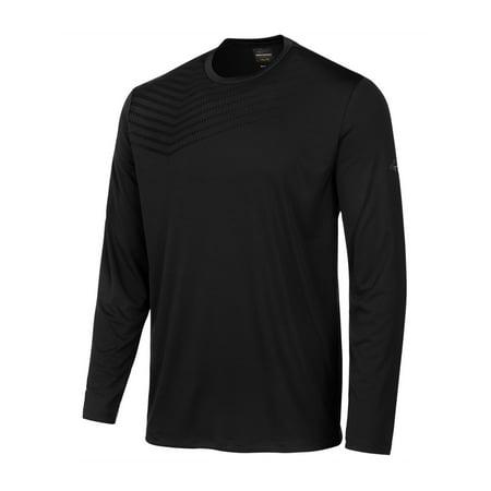 Greg Norman Mens Striped Basic T-Shirt deepblack M - image 1 de 1