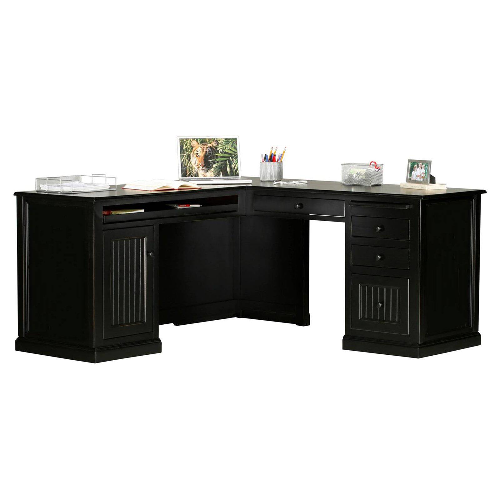 Incroyable Eagle Furniture Coastal Customizable L Shape Computer Desk   Walmart.com