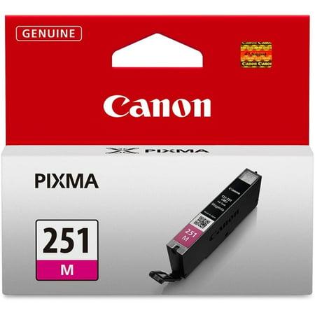 Canon 6515B001 CLI-251M Standard Capacity Magenta Ink Tank ()
