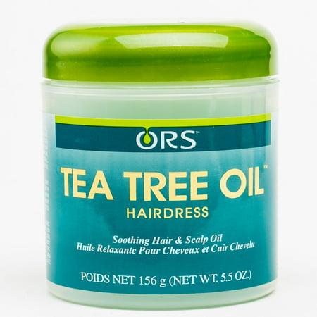 - ORS Essential Oils - Tea Tree Oil Hairdress 5.5 oz