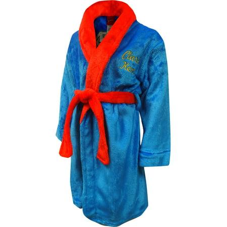 Superman Toddler Boys Robe
