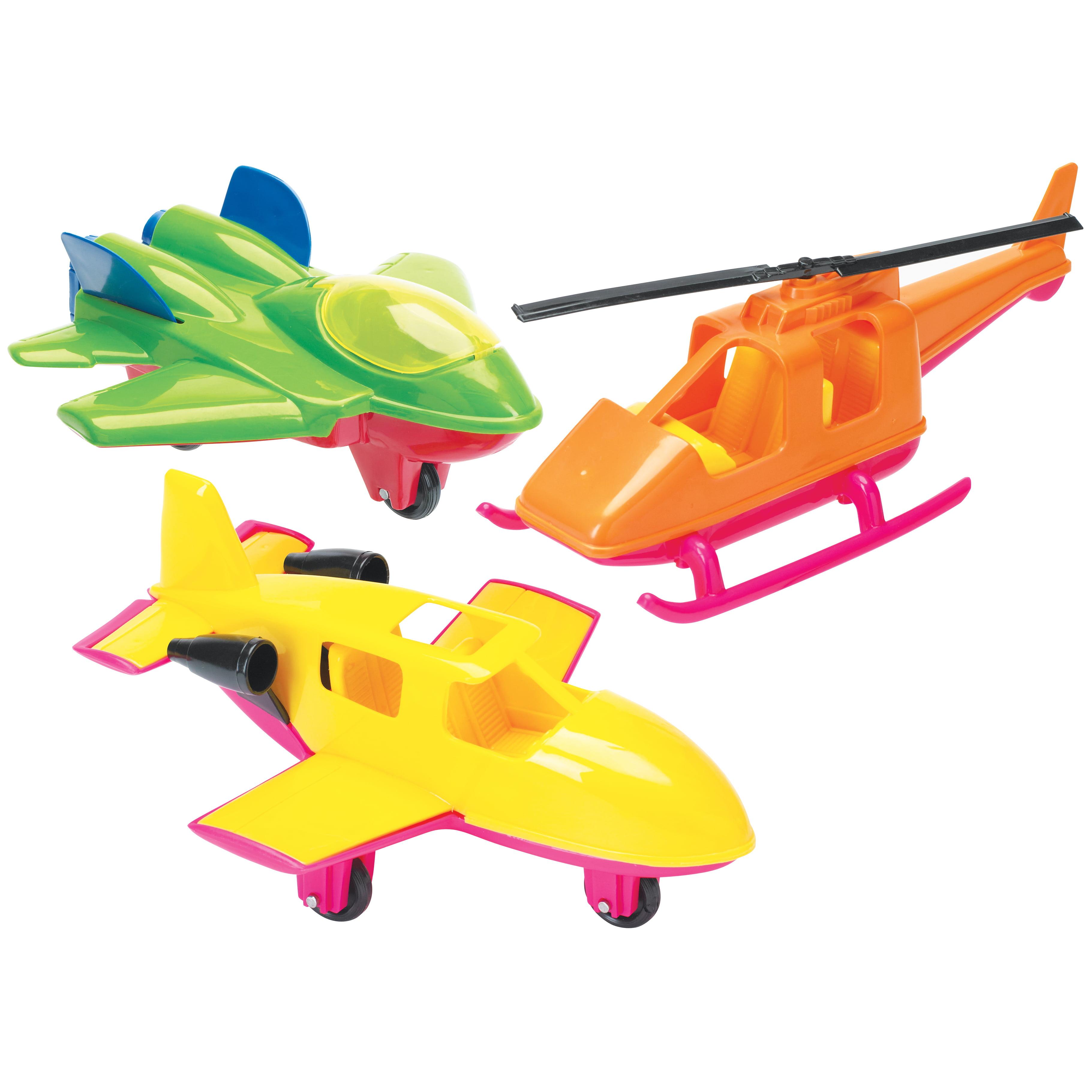 Name Drop Assorted Plastic Aircraft