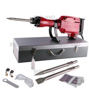 Red Heavy Duty 2200W Industrial Electric Demolition Jack Hammer Concrete Breaker