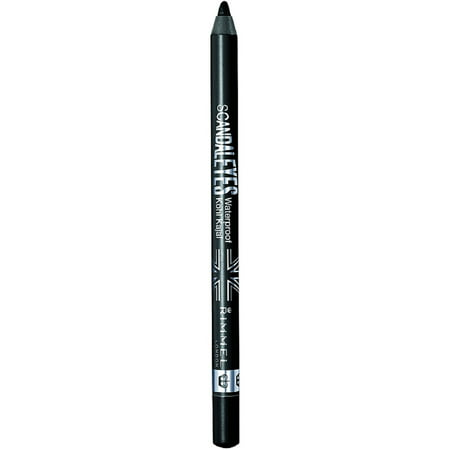 Rimmel London Scandal Eyes Waterproof Kohl Kajal Eyeliner, Black 0.04