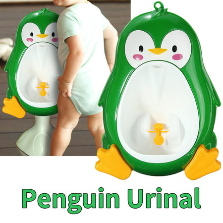Lovely Frog Urinal Boy Training Toilet Kids Baby Children Potty Pee Ho