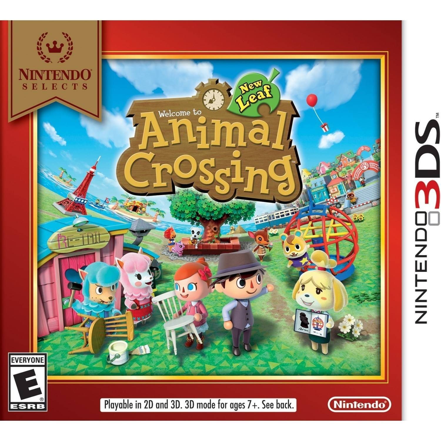 Image of: Animal Crossing New Leaf Animal Crossing New Leaf Nintendo Selects nintendo 3ds Walmartcom Walmart Animal Crossing New Leaf Nintendo Selects nintendo 3ds