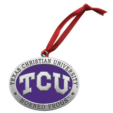 TCU Horned Frogs Logo Ornament