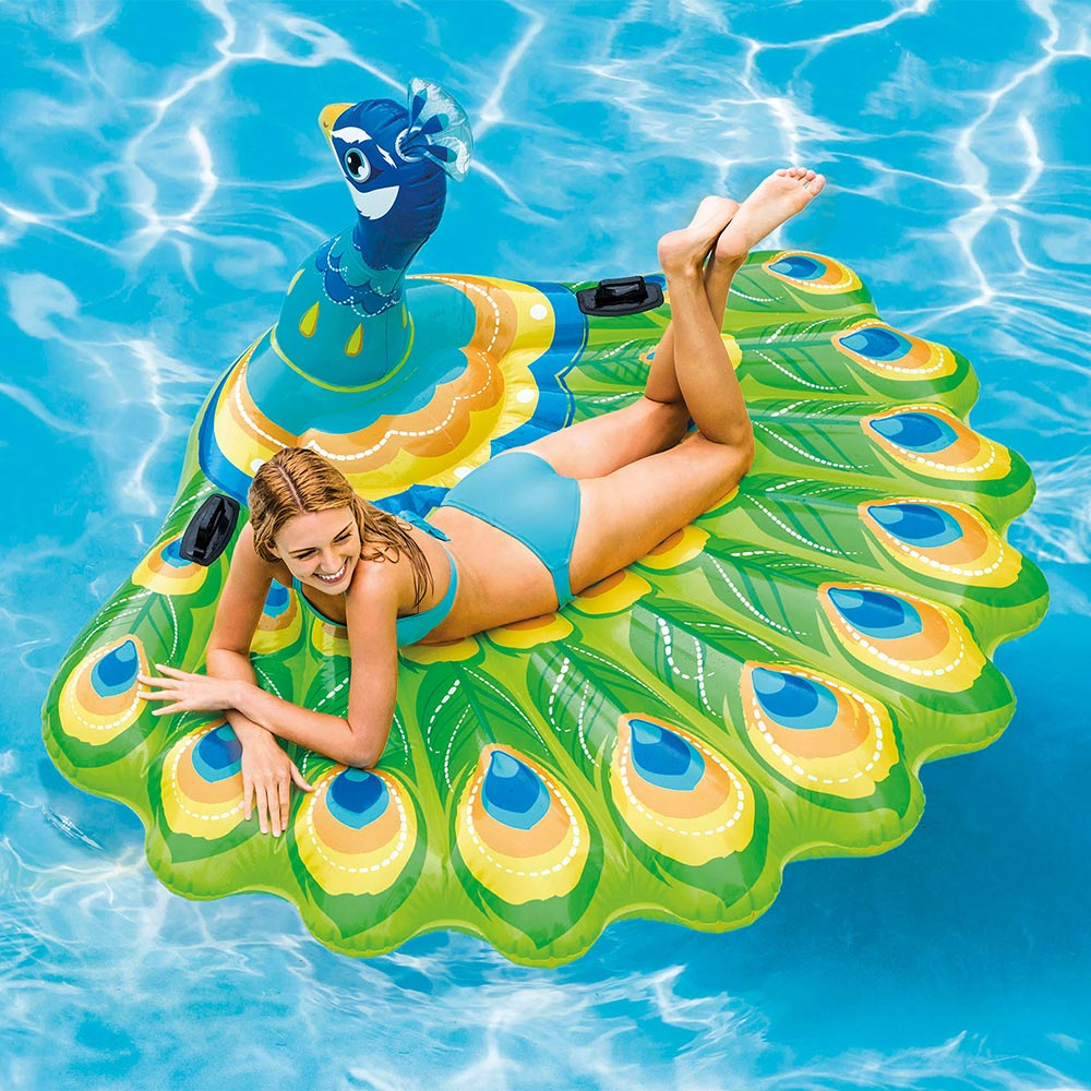 Intex Peacock Island for Swimming Pools, 1 Pack