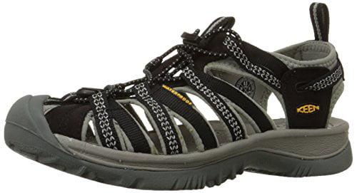 Keen 1008448: Whisper Womens Black Neutral Gray by Keen Footwear