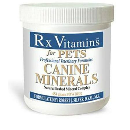 Rx Vitamins for Pets Canine minéraux en poudre 454 g