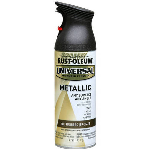 Rust-Oleum Universal Metallic Oil Rubbed Bronze Spray Paint 11oz