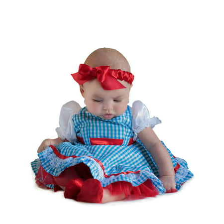 Wizard Of Oz Dorothy New Born Costume for Toddler](Wizard Toddler Costume)