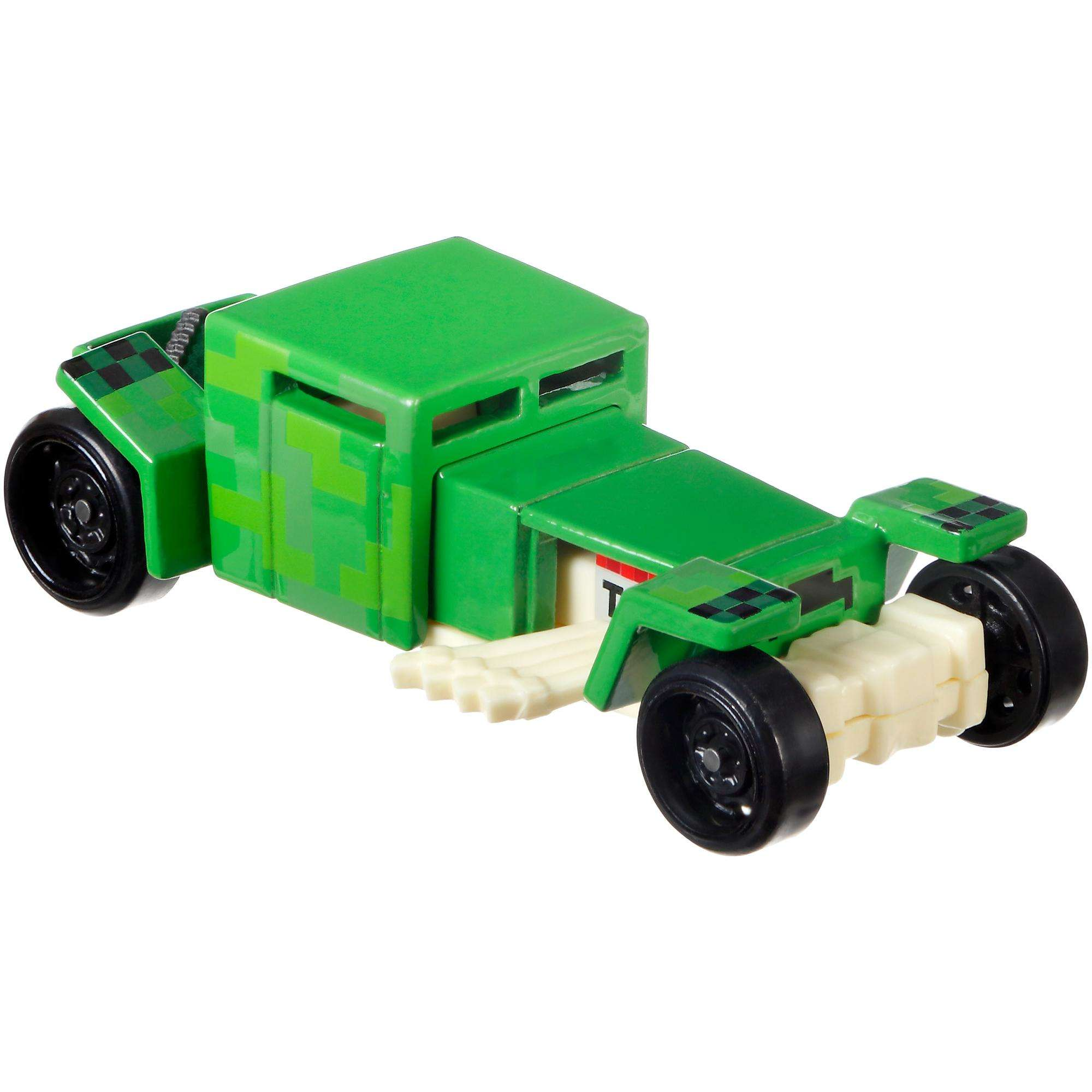 Hot Wheels Minecraft Creeper Vehicle by Mattel