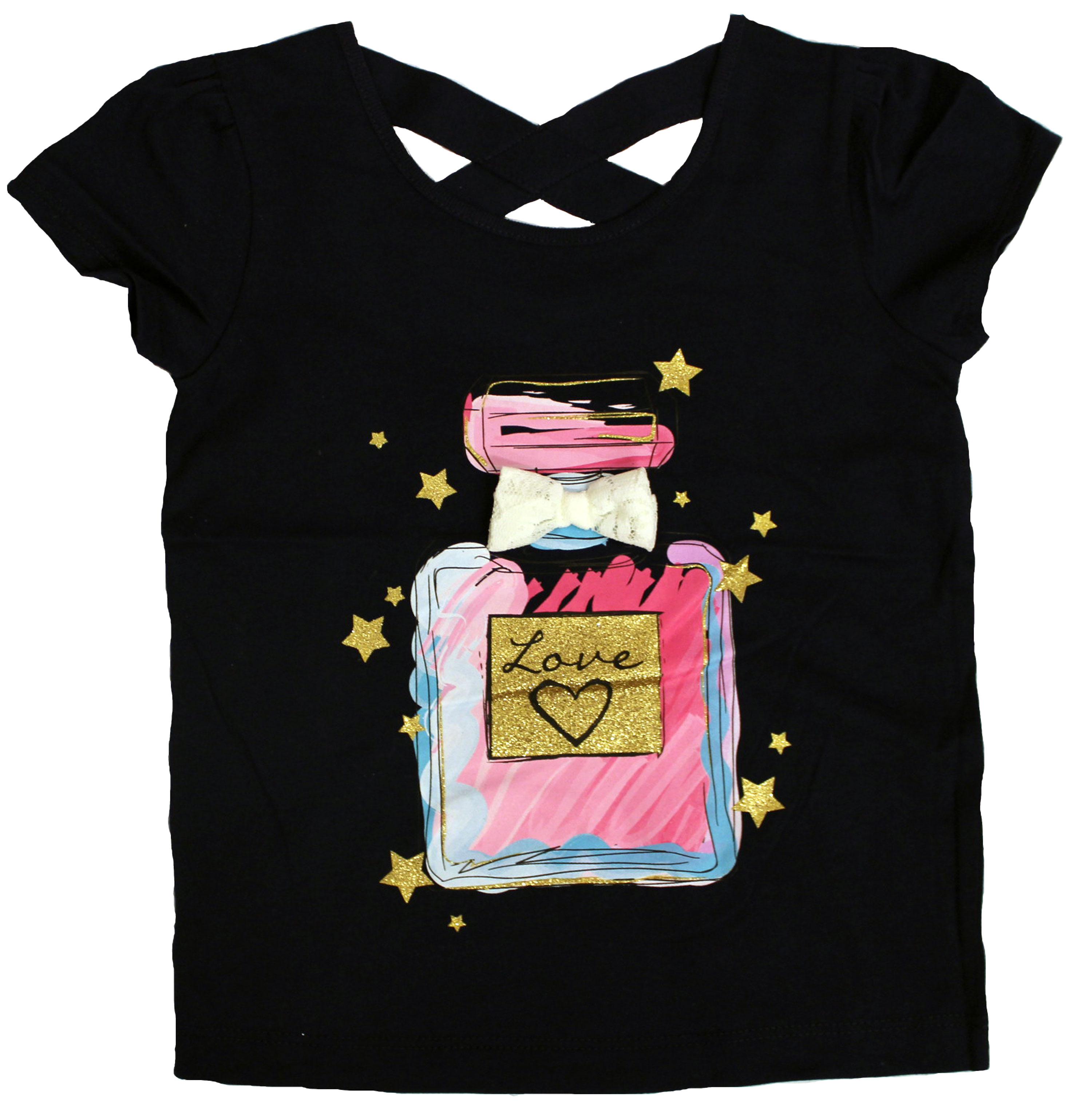 Back to School Toddler Girl Graphic Tee