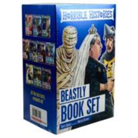 Horrible Histories 10 Book Box Set (Paperback)