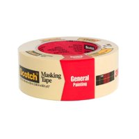 Scotch 2050-48A-BK Greener Masking Tape for Performance Painting