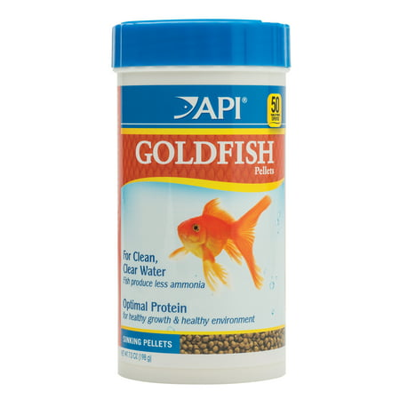 Api Food - API Goldfish Pellets, Fish Food, 7 oz