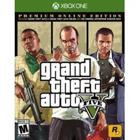 Walmart.com deals on Grand Theft Auto V: Premium Online Edition Xbox One