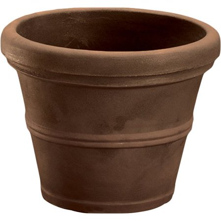 Terra Concrete - Charlton Home Lanesborough Resin Pot Planter