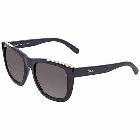 Chloe CE659S 001 Black Square Sunglasses