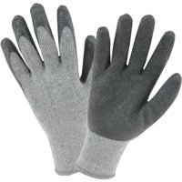 Hyper Tough Knit Latex-Coated Glove, 1 Pair, Large