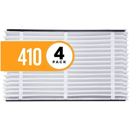 Aprilaire 410 Air Filter for Aprilaire Whole Home Air Purifiers, MERV 11 (Pack of 4)