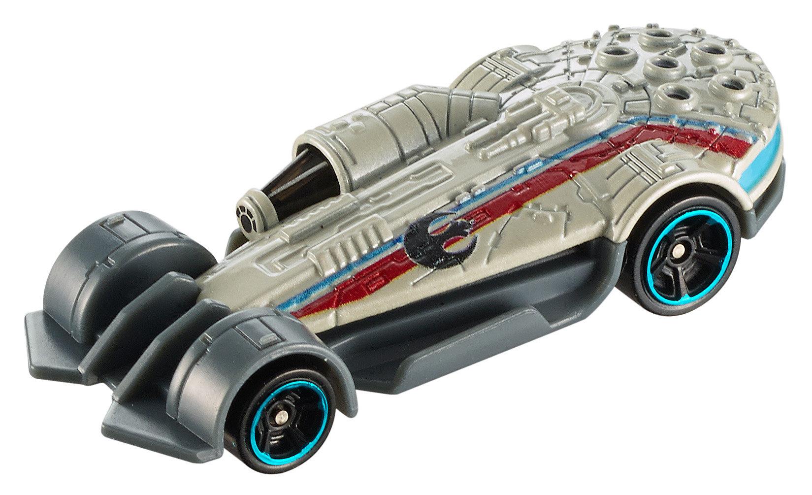 Hot Wheels Star Wars Carships Millennium Falcon Vehicle by Mattel