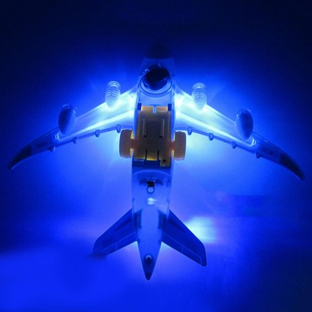VENSE aircraft carrier in toys Multicolor Flash Plane Toy Sound Aircraft Music Lighting Children Kids Toys - image 1 de 8